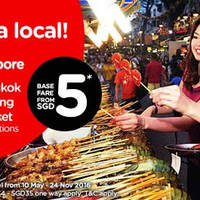 Read more about Air Asia fr $5* Promo Fares from 9 - 15 May 2016