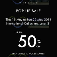 Read more about Anteprima Wirebag Pop-up Sale at Takashimaya from 19 - 22 May 2016