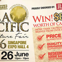 Read more about Asia Pacific Furniture Fair at Singapore Expo from 18 - 26 Jun 2016