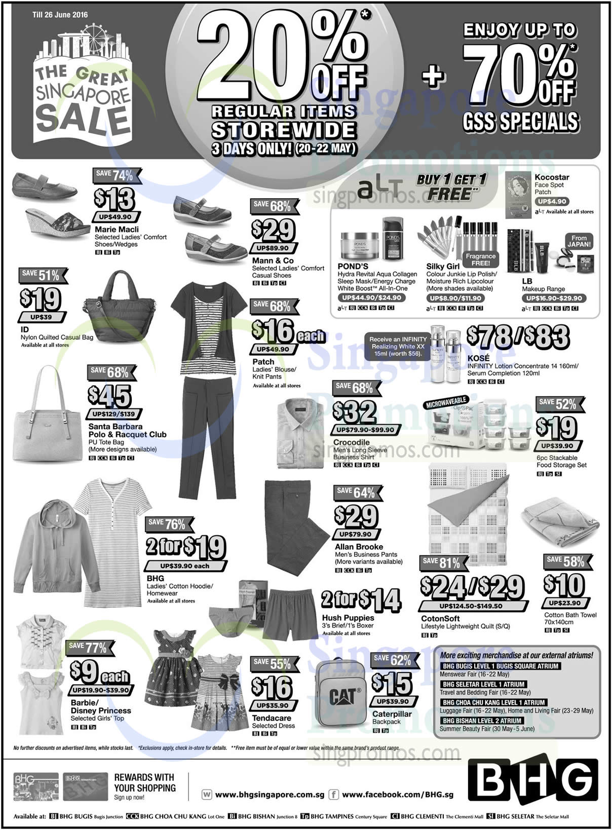 Bhg 20 May 2016 Bhg 20 Off Storewide Super Sale From 20 22 May 2016