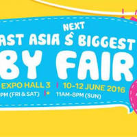 Read more about Baby Baby Fair at Singapore Expo from 10 - 12 Jun 2016