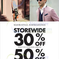 Major savings storewide to get you styled for Summer! Enjoy 30% off when you buy 3 items and 50% off when you buy 5 items or more.