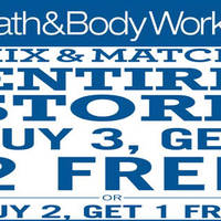 Bath & Body Works will be having a Buy-2-Get-1-Free and Buy-3-Get-2-Free from 27 to 29 May. Save up to $170. Mix & match