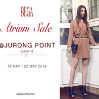 Read more about Bega Atrium Sale at Jurong Point from 16 - 22 May 2016