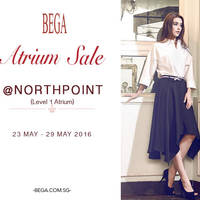 Read more about Bega Atrium Sale at NorthPoint from 23 - 29 May 2016