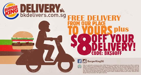 Online Delivery: Burger King Online Delivery