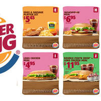 Coins are king if you know where to put 'em. Into these Burger King great coupon deals! Valid from 17 May to 8 July 2016