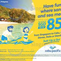 Read more about Cebu Pacific fr $85 all-in Davao, Iloilo, Clark & Cebu Promo Fares from 15 - 17 May 2016