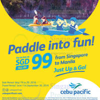 Read more about Cebu Pacific $99 all-in Manila Promo Fares from 19 - 20 May 2016