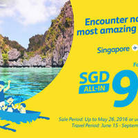 Encounter nature's most amazing sights!. Singapore to Manila for as low as $99 all-in