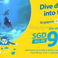 Dive deep into fun. Singapore to Manila for as low as $99 all-in via Cebu Pacific Air