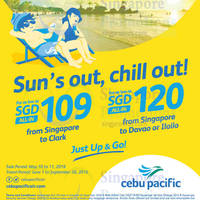 Read more about Cebu Pacific fr $109 Promo Fares from 10 - 11 May 2016