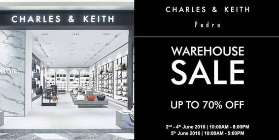 Charles Keith Pedro Feat 26 May 2016