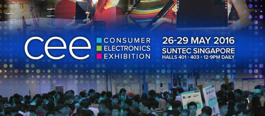 Consumer Electronics Exhibition Feat 19 May 2016