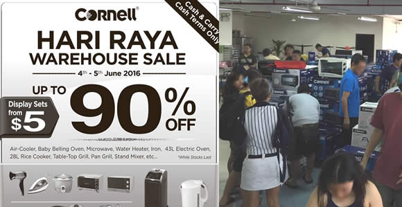 Cornell Warehouse Sale Feat 26 May 2016