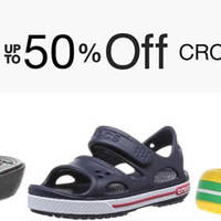 Read more about Crocs Up to 50% off Shoes 24hr Promo from 18 - 19 May 2016