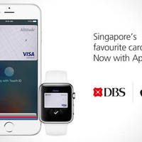 Read more about DBS/POSB 20% Cashback when you use Apple Pay from 25 May - 24 Aug 2016