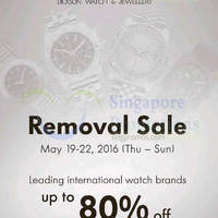 Read more about Dickson Watch & Jewellery Removal Sale at Suntec from 19 - 22 May 2016