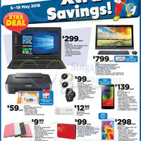 "Fairprice Xtra is offering a 11.6"" Acer notebook for $299 (usual $349) till 18 May 2016"