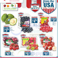 Check out Avocados, blueberries, strawberries and many more offers FRESH from the USA at Fairprice. Offers valid from 26 May - 1 Jun 2016