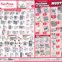 Check out NTUC Fairprice's latest must buy weekly deals featuring WALL'S Mini Cornetto, CADBURY Marvellous Creations, ENERGIZER Max and many more from their latest weekly newspaper advertisements