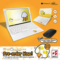 The limited edition GD10 Windows 2-in-1 Device: Gudetama Edition, featuring everyone's favourite lazy egg yolk character, will wobble onto Singapore shores end-June.