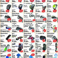 Golf Direct is having a May Super Sale from 6 to 22 May 2016