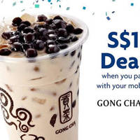 Read more about Gong Cha $1 Classic Milk Tea with Pearl Jelly (worth S$3.00) for UOB Cardmembers at 14 Outlets from 25 - 29 May 2016