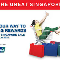 Read more about Great Singapore Sale 2016 Sales, Events, Offers, Happenings, Deals from 3 Jun - 14 Aug 2016