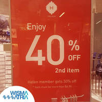Discover the enchanting world of fashion accessories. Visit Helen Accessories and enjoy 40% off the second item!