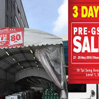 Home-Fix is having a Pre-GSS sale till 29 May 2016 at Home-Fix Building. Enjoy up to 80% off Kärcher, Bosch Singapore, Philips, Yale Digital and more