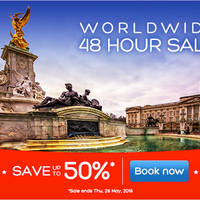 Read more about Hotels.Com Up To 50% Off Worldwide Hotels 48hr Sale from 25 - 26 May 2016