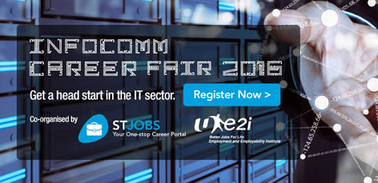 Infocomm Career Fair Feat 18 May 2016