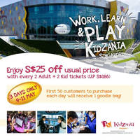 Read more about KidZania $25 Off Bundle Tickets Offer at Chevron House from 9 - 11 May 2016