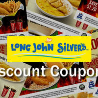 More reasons to dine at Long John Silver's. Flash any of the coupon images below at any Long John Silver's outlet and save up to $3.80, valid till 6 July 2016