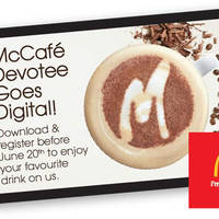 Get a free beverage when you download and install the free McCafe Devotee App till 20 June 2016