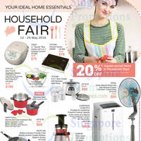 Read more about OG Home Essentials Household Fair from 12 - 25 May 2016