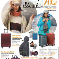 Read more about OG 20% Off Travel Essentials Promotion from 5 - 18 May 2016