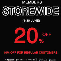 Got some gear that needs replacing? Grab 10% OFF storewide for regular customers.