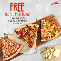 Read more about Pizza Hut Free Pizza Slices Giveaway at IMM from 12pm on 19 May 2016