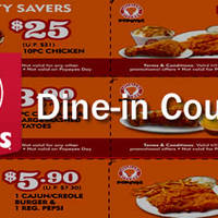 Enjoy awesome deals at Popeyes with these coupons. Print and present to redeem special deals at your nearest Popeyes restaurant.