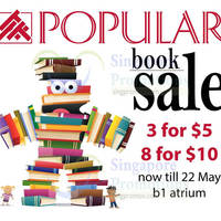 Read more about Popular 3 for $5 & 8 for $10 Books at United Square from 17 - 22 May 2016