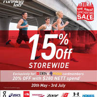 Read more about Running Lab 15% Off Storewide GSS Sale from 20 May - 3 Jul 2016