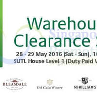 Read more about SUTL Wines Warehouse Clearance Sale from 28 - 29 May 2016