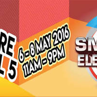 The Smart Electronics 2016 fair will be happening from from 22 to 24 April, 11am - 9pm at Singapore Expo Hall 6. Shoppers can expect to find a range of top brand electronics being cleared including 2015 / 2016 models