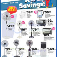 Enjoy Xtra Savings on selected Sona appliances such as fans, ovens, air conditioners and more at Fairprice Xtra till 8 June