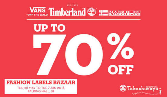 Takashimaya Fashion Bazaar Feat 26 May 2016