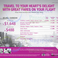 Read more about Thai Airways fr $218 all-in Promo Fares to over 25 destinations from 16 May - 31 Jul 2016