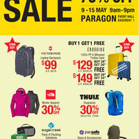 Read more about Planet Traveller Travel Branded Goods SALE at Paragon from 9 - 15 May 2016
