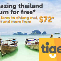 Read more about TigerAir Thailand Pay-to-Go & Return-for-FREE from 30 May - 12 Jun 2016